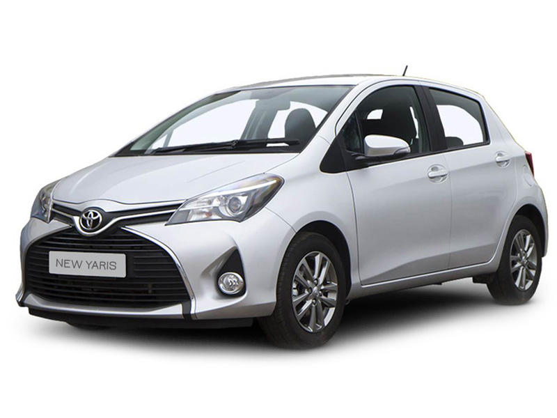 <strong>Toyota Yaris</strong> (white) 2016 <br>1.4 Petrol MT